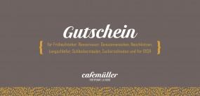 cafemüller Gutschein Frühstücksbuffet