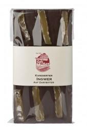 Zartbitter Ingwer Schokolade